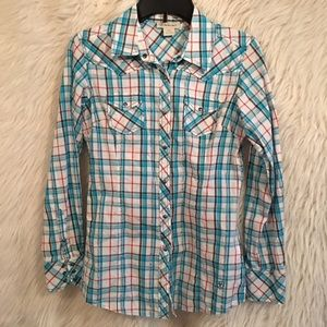 ARIAT - Button up Top - Size Small